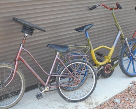 Gekke fietsen